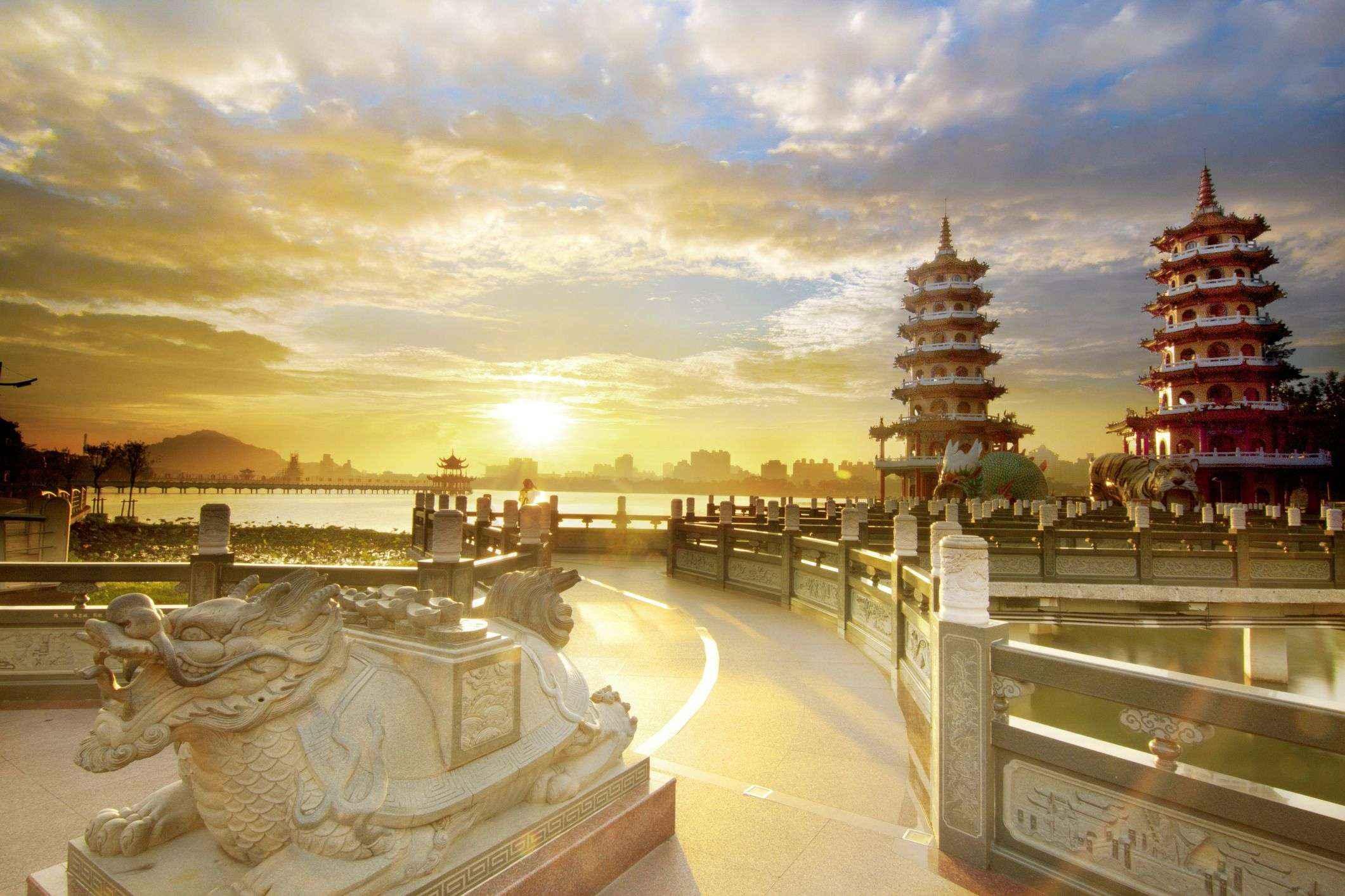 Đầm sen tại Cao Hùng