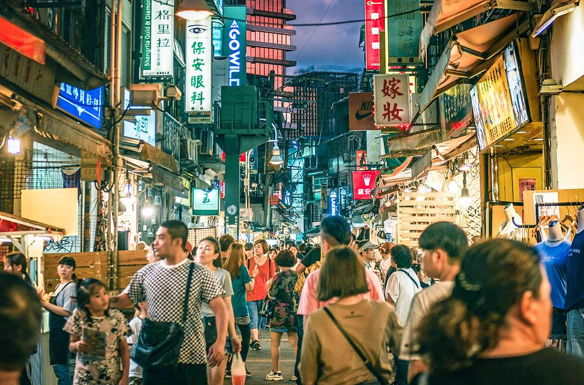 chợ đêm Thạch Lâm
