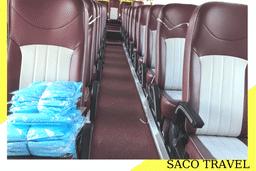 [Nội thành] Xe buýt miễn phí chở khách hoàn thành cách ly và điều trị COVID   SACO TRAVEL