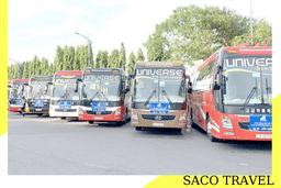 [Nội thành] Xe chở khách F1/F2 đi từ Nhà/Sân bay đến Nơi cách ly (Chỉ cho Công dân Việt Nam)   SACO TRAVEL