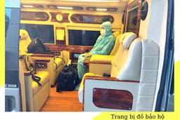 [Ngoại thành] Xe chở khách đi từ Sân bay Tân Sơn Nhất đến Nơi cách ly (Cho mọi quốc tịch)   SACO TRAVEL