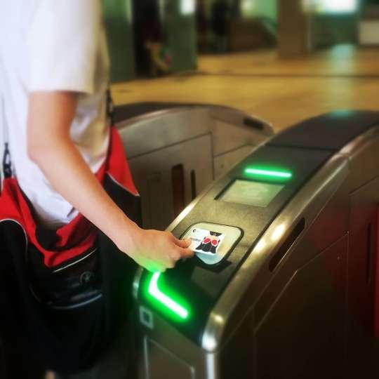 Singapore EZ-Link - Bus and train card