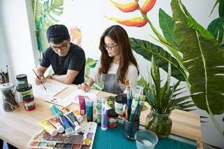 Paint And Sip Admission Tickets, THB 1,208.38