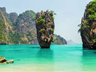James Bond Island by Big Boat + Canoeingx2 + Swimming - 1-day Tour, THB 1,788.80