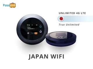 Passpod Pocket WiFi Japan (Indonesia Pick-Up), AUD 2.80