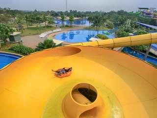 Go! Wet Waterpark Tickets, Rp 60.000