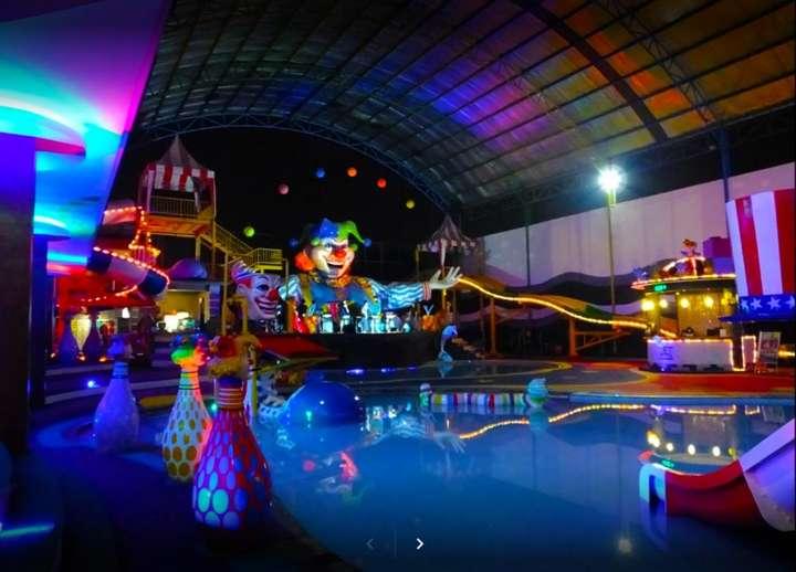 Mencari aktiviti yang menyeronokkan untuk dilakukan dengan anak kecil anda? Sirkus Waterplay adalah tempat yang tepat untuk anda! Nikmati orang yang anda sayangi untuk menikmati sesi berenang yang menyeronokkan di taman air bertema sarkas ini ...