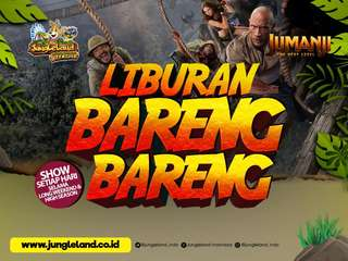 JungleLand Adventure Theme Park Sentul Tickets - Easy Access, S$ 6.80