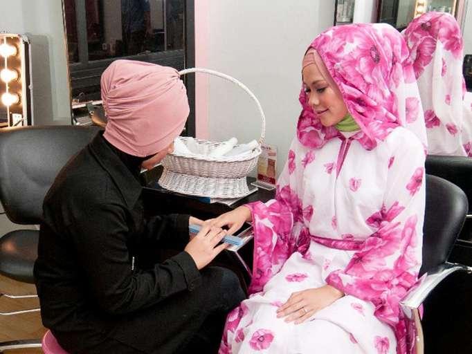 spa slimming muslimah