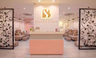 Belle & Stacy Nails + Cafe (Manicure and Pedicure Nail Treatments), ₱ 380