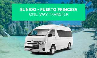 El Nido Terminal to Puerto Princesa Private Van Transfers, ₱ 6,000