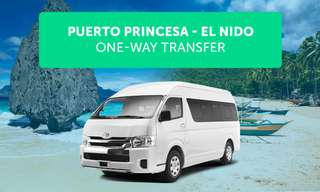 Puerto Princesa to El Nido Terminal Shared Van Transfers, ₱ 490