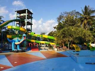 Tiket Waterboom Mulia Wisata Waterpark, Rp 16.000