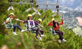 Baguio Tree Top Adventure Tickets, ₱ 810
