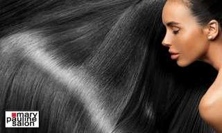 Mary Pauline Salon Taguig (Keratin, Brazilian Blowout, Hair Color, Rebond Hair Treatments), ₱ 899