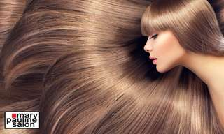 Mary Pauline Salon Timog (Keratin, Brazilian Blowout, Hair Color, Rebond Hair Treatments), ₱ 899