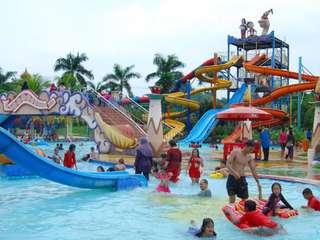 Tiket Depok Fantasi Waterpark, Rp 25.000