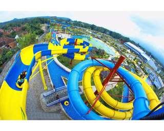 Sangkan Waterpark Tickets, Rp 52.000