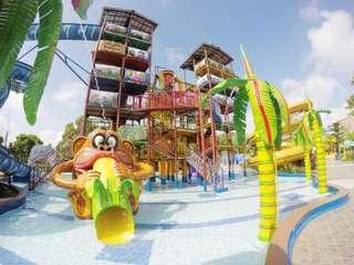 Tiket Caribbean Island Waterpark, Rp 30.000