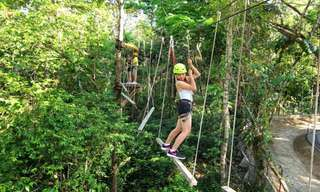 Chocolate Hills Adventure Park Rope Challenges Tickets, ₱ 53