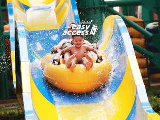 Transera Waterpark Tickets, Rp 54.000