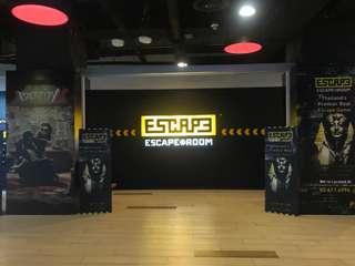 บัตรเล่นเกมห้องปริศนา Escape Room Bangkok, THB 500