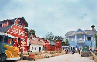 Tiket Theme Park Asia Farm, Rp 20.000