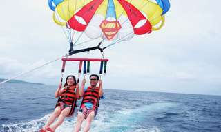 Parasailing in Boracay by Diamond Water Sports, ₱ 2,000