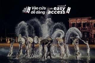 [FLASH SALE] Vé show Ký ức Hội An vào cửa dễ dàng, VND 600.000