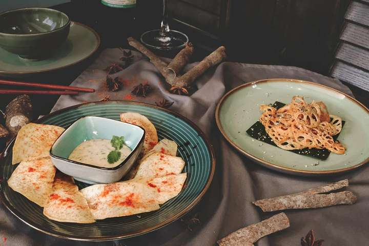 Nhà hàng Lá Gốm Vegeterian Kitchen Phú Quốc - Giá tốt nhất tại Traveloka  Xperience