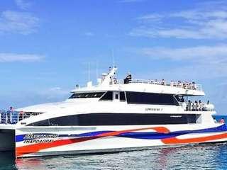 บริการรถบัส+เรือเฟอร์รี่ กรุงเทพฯ – เกาะพะงัน (หรือกลับกัน) โดยลมพระยา, THB 1,251.30