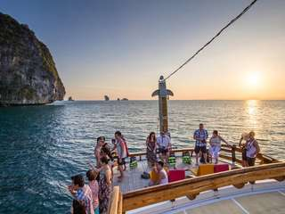 Krabi 4 Islands Snorkeling & Sunset Cruise (by Aonang Fiore) - 6.30 Hours Tour, THB 1,990