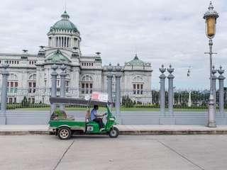 บัตรตุ๊กตุ๊กชมกรุงเทพฯ เมืองเก่า Tuk Tuk Hop, THB 840