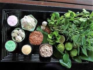 คลาสเรียนทำอาหาร Thai Four Elements ที่ Romdee by Tarn Tara Spa, THB 3,000