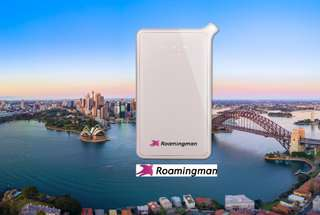 Australia and New Zealand 3G Pocket Wifi Rental (Malaysia Pick Up) by Roaming Man, RM 21.50