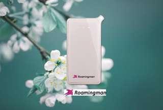 Thailand 3G Pocket Wifi Rental (Malaysia Pick Up) by Roaming Man, THB 86.80