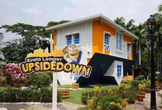 KL Upside Down House Admission Tickets, S$ 4.90