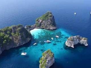 Krabi: Koh Rok & Koh Haa Islands Hopping (from Laem Kruat Pier) - 1-day Tour, THB 2,790