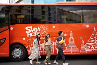 Siam Hop: รถบัสชมเมืองกรุงเทพฯ, THB 350