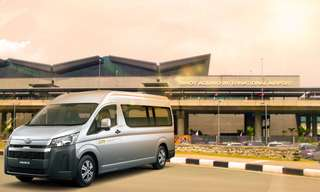 One-Way Private Transfer Between NAIA Terminals and Caloocan City, ₱ 1,162.70