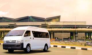 One-Way Private Transfer Between NAIA Terminals and Cainta, ₱ 1,390