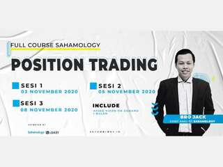 [Full Course] Position Trading (Sahamology) - Online Class, RM 141.40