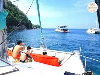 Private Catamaran: Koh Racha Yai and Koh Hey (Coral Island) (by Belonging To The Sea), THB 29,400