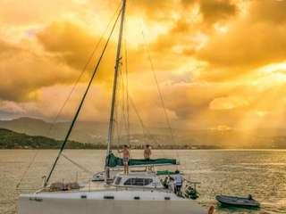 Private Catamaran: Sunset At Samui (by Belonging To The Sea), THB 15,500