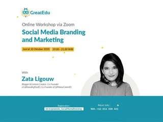 Social Media Branding and Marketing - Online Class, RM 21.32
