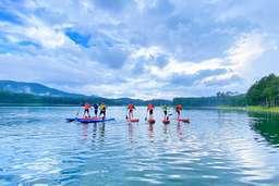 Tour chèo thuyền SUP & Ăn trưa picnic tại Hồ Tuyền Lâm, Đà Lạt - 1 Ngày, VND 487.500