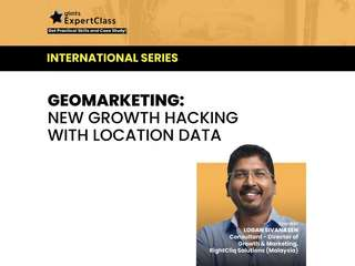Geomarketing: New Growth Hacking With Location Data - Online Class, RM 35.35