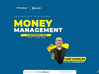 Money Management for Swing Trader (Sahamology) - Online Class, RM 28.42