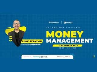 Money Management for Swing Trader (Sahamology) - Online Class, RM 28.28
