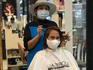 Lilly Hair Spa Robinson Lifestyle Buriram, THB 300